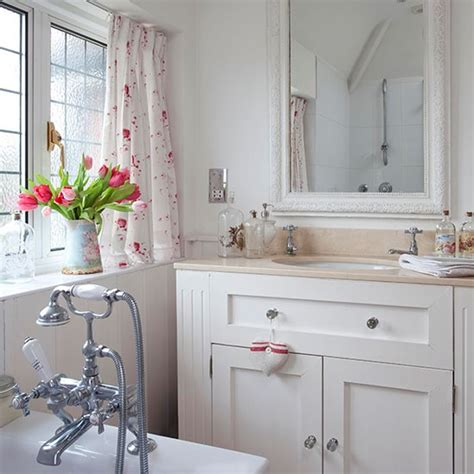 country bathroom with painted vanity unit country bathroom design ideas housetohome co uk