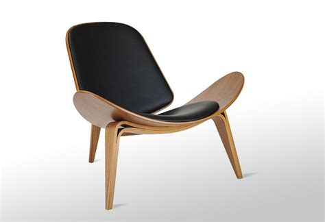 shell chair by hans j wegner lumberjac