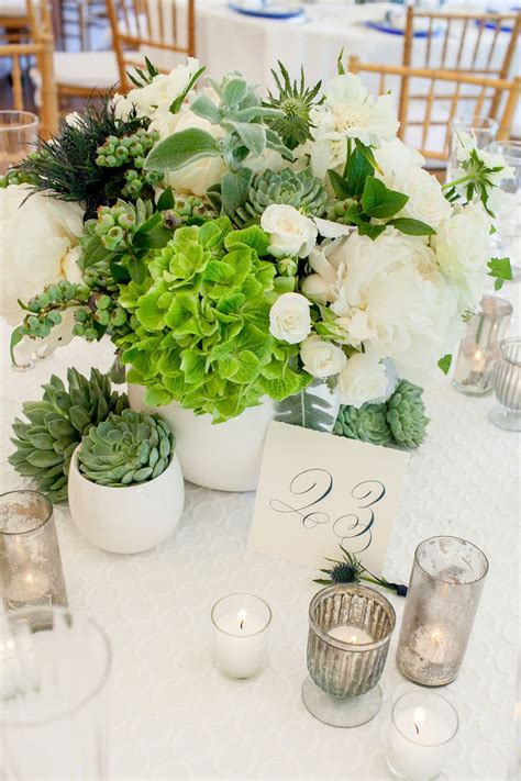 Preppy Backyard Wedding In 2019 Succulent Wedding