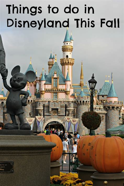 things to do in fall things to do in disneyland in the fall emily s frugal tips