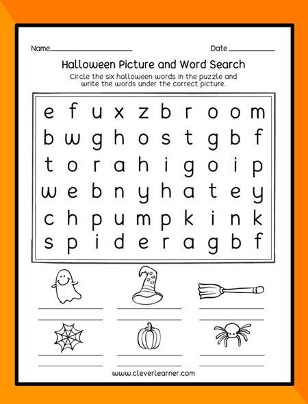 halloween theme printables  preschool