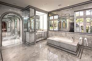 Mirrored Bathrooms - Contemporary - Bathroom - Thompson
