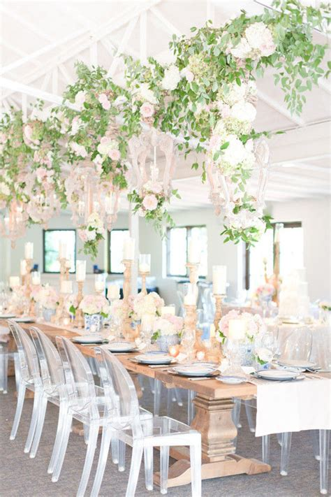 Wedding Table With Hanging Greenery Pictures Photos and