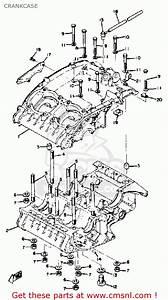 Yamaha Rd350 1973 Usa Crankcase