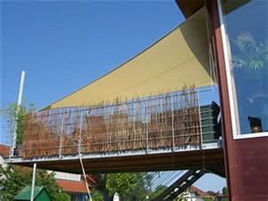 Sonnensegel Balkon Balkonbeschattung Mit Sonnensegel
