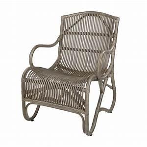 Fauteuil Rotin Design : fauteuil en rotin gris tol do fauteuil en rotin naturel fauteuil en rotin moderne rotin design ~ Nature-et-papiers.com Idées de Décoration