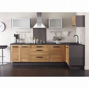 Meuble Angle Cuisine : mon espace maison meuble bas angle cuisine chene massif verni largeur 40cm ~ Teatrodelosmanantiales.com Idées de Décoration