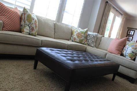 tangerine apple green delicious custom sectional sofa