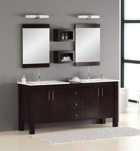 double bathroom vanity modern bathroom vanities