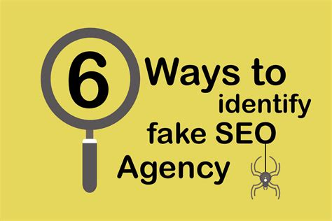 seo agency 6 ways to identify detect seo agency consultant