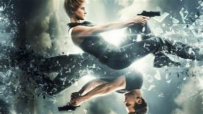 Glass Divergent Insurgent Poster Gun Series Debris