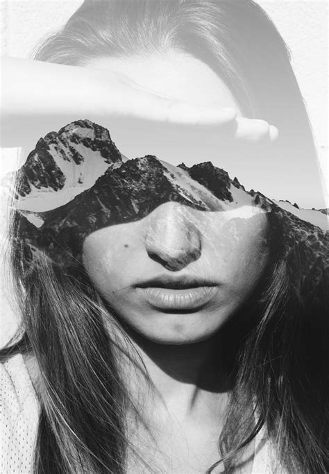 Dramatic Double Exposures That Blend Portraiture And