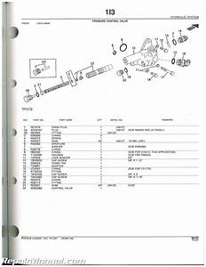 John Deere 410 Loader Backhoe Parts Manual