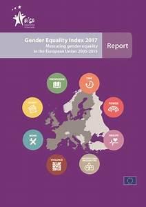 Indice de l'égalité de genre 2017: des progrès à pas de ...