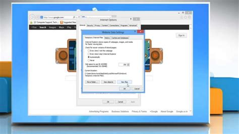View Temporary Internet Files In Internet Explorer® 10 On