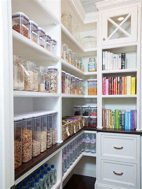 Here's a no kitchen pantry idea with purpose! Creative Pantry Organizing Ideas and Solutions | Kitchen organization pantry, No pantry ...