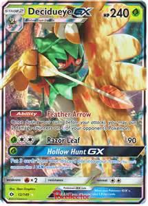 Card English GX Pokemon Decidueye
