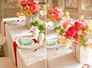 Tischdeko Hochzeit Rot : farbenfrohe vintage hochzeit ~ Yasmunasinghe.com Haus und Dekorationen