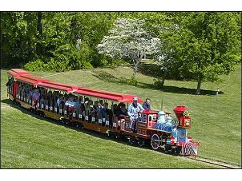 lake burke park train carousel trains va miniature ride fairfax rides county open virginia parks mini steam ox april children
