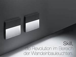 Wandeinbauleuchten Für Treppen : skill die revolution im bereich der wandeinbauleuchten ~ Watch28wear.com Haus und Dekorationen