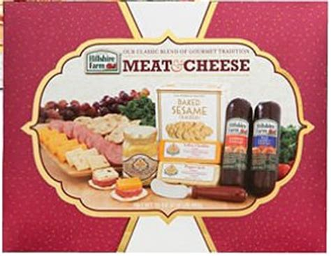 hillshire farm christmas gift set hillshire farm classic collection sausage cheese mustard crackers gift