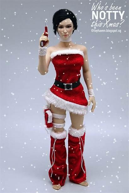 Female Xmas Phicen Scale Costume Figure Seamless