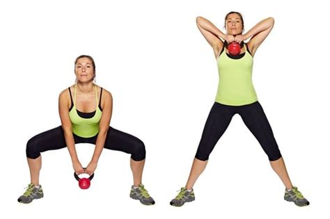 squat sumo kettlebell exercises row upright kettle workouts training stronger running workout casa