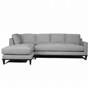 Stewart furniture 182 metropolitan 2 piece sofa chaise for Metropolitan sectional sofa chaise