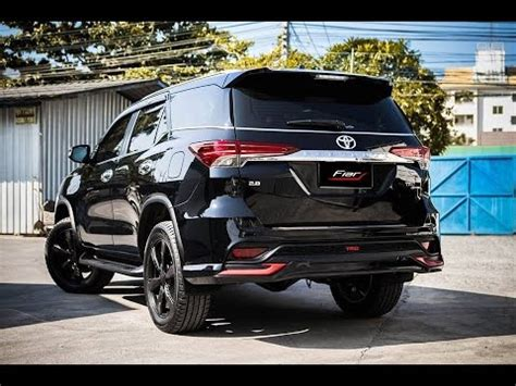 Fortuner Modif Wallpaper by 10 Highly Modified 2016 Toyota Fortuner