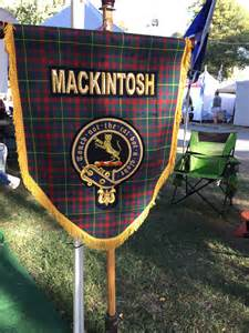 tartan ribbon clan mackintosh scotclans scottish clans