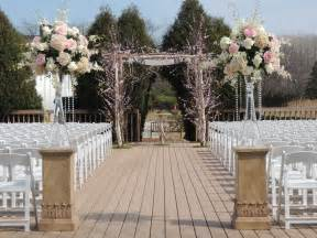 simple and elegant outdoor wedding ceremony wedding