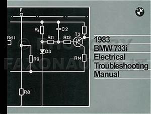 1983 Bmw 733i Electrical Troubleshooting Manual 733 I Wiring Diagram Schematics