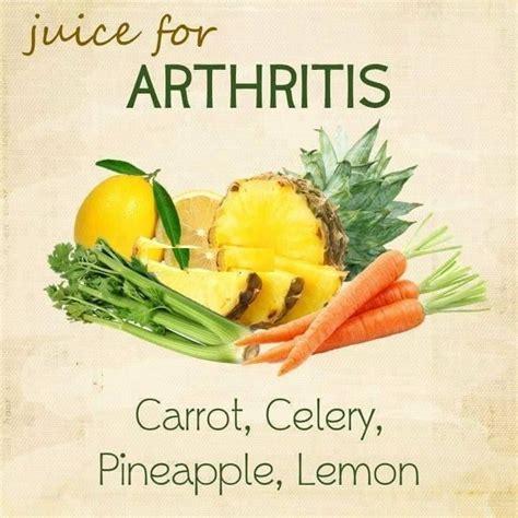 arthritis juices juicing