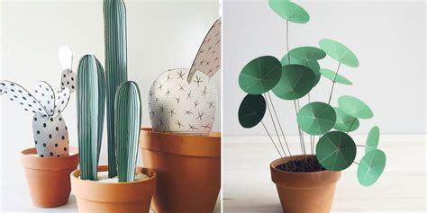 jeux en ligne de cuisine 16 diy pour réaliser des plantes en papier