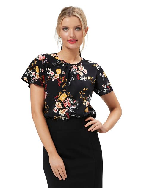 Allure Floral Top | Shop Tops Online from Review | Review ...