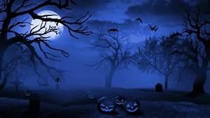 Birthday Calendar Download Halloween Graveyard Hd Wallpaper Download
