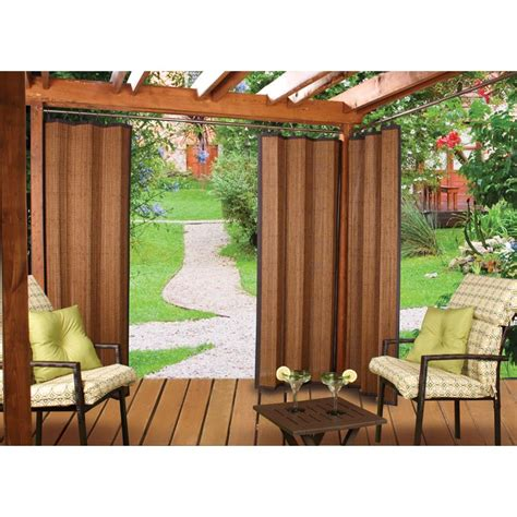 Outdoor Curtain Panels by Bamboo Outdoor Curtain Bamboo Products Photo