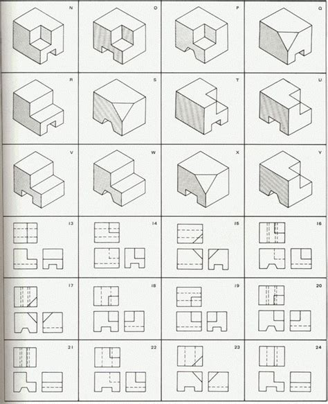 1000 ideas about isometric drawing exercises on