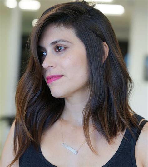 haircut  square face asian female wavy haircut