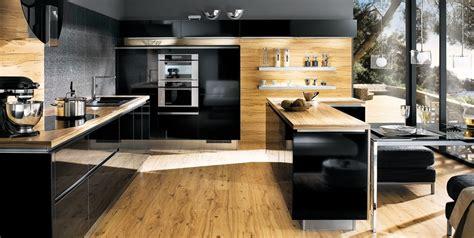 cuisine bois et noir cuisine bois et noir top cuisine