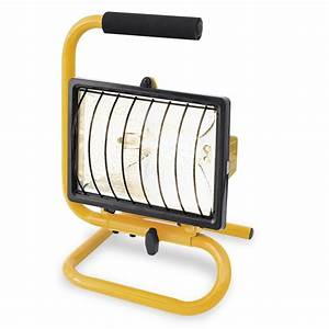 Arlec w portable halogen worklight