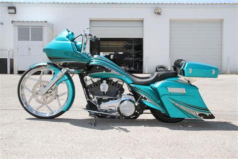 Covingtons Tealbagger3 Custom Harley