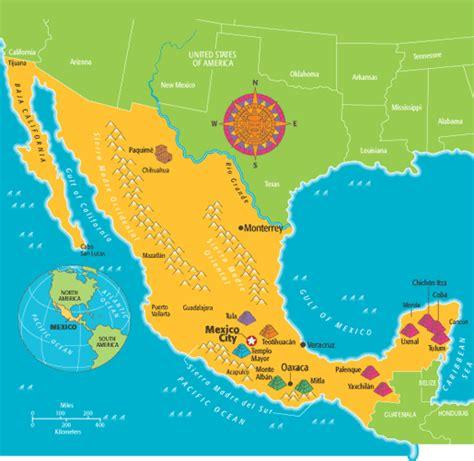 mexico virtual  time  kids