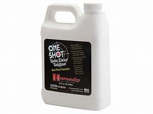 Hornady One Shot Sonic Cleaner Ultrasonic Firearms Cleaning Solution