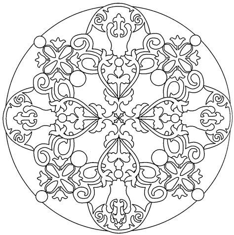 Dibujos Mandalas Gratis Para Colorear Imagixs Mandalas