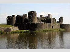 Caerphilly Castle, Wales PinPoint