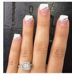 Fancy French manicure!   Nails   Pinterest   Manicure Fancy and French manicure designs