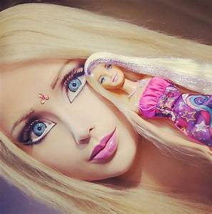 The famed 'Human Barbie' finally shares a no-makeup selfie