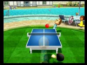 Wii Sports Resort- Table Tennis Match - YouTube  Table Tennis Sports