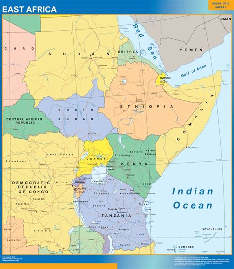 world map east africa image collections word map images